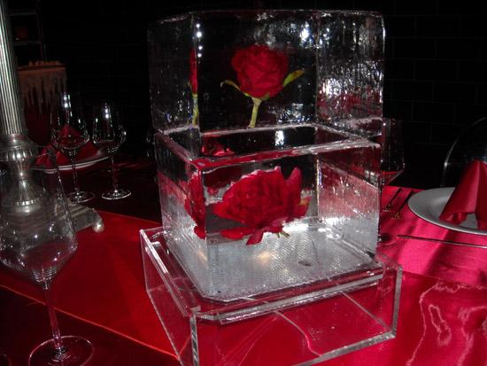 Ice bulb luges sculptures bars